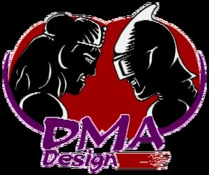 DMA Design 1990 logo