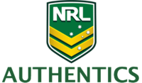 NRL Authentics Logo (2014)