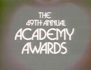 Oscars 49th