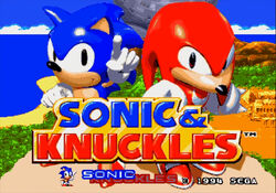SonicandKnucklestitlescreen1994