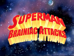 Superman Brainiac Attacks Logo