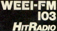 WEEI FM Boston 1980
