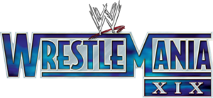 WrestleManiaXIX