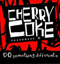 Cherry Coke 1995 Logo
