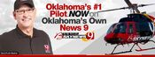 KWTV-TV's News 9's Bob Mills Skynews 9 Video Promo From September 2012