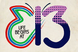 Life begins at 13 remastered logo by jadxx0223-db6cvvh