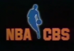 NBA on CBS logo 1979 1980