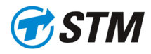 Old logo of societe transport de montreal