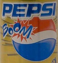 Pepsi boom logo
