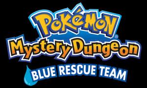Pokémon Mystery Dungeon blue Rescue Team logo