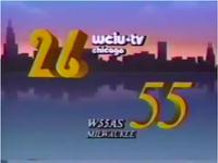 WCIU-TV W55AS 1985