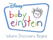 Baby Einstein logo (2007) with Where Discovery Begins