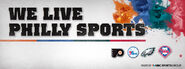 Comcast Sportsnet Philadelphia's We Live Philly Sports Video Promo -3 From March 2012