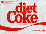 Diet Coke 1982 logo