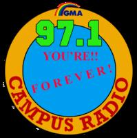Campus Radio 97.1 Laoag Logo June 2002