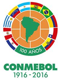Conmebol 100 logo