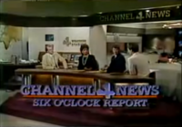 KDFW Channel 4 News 6PM open - 1984