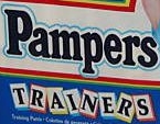 Pampers Trainers logo