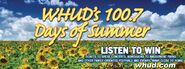 WHUD-FM's 100.7's 100.7 Days Of Summer's Listen To Win Promo From Late May 2012