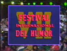 Festival Internacional del Humor 1990 logo