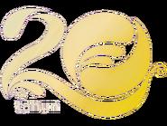 Indosiar 20 tahun number logo 1