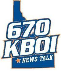 News Talk 670 KBOI logo