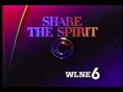 WLNE-TV 6 Share The Spirit of CBS 1986