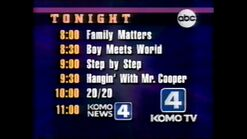 KOMO ABC Primetime promo October 1993