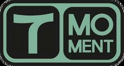 T Moment logo