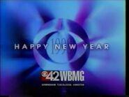 WBMG CBS 42 Happy New Year 1998