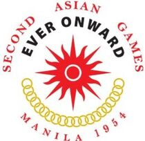 Second Asiad's official logo (cropped)