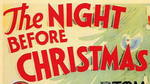 The Night Before Christmas poster logo Tom and Jerry