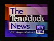 WXIX 10PM News 1993 ID