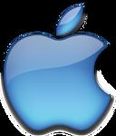 Apple 2001 blue