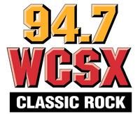 WCSX 94.7 Vertical logo