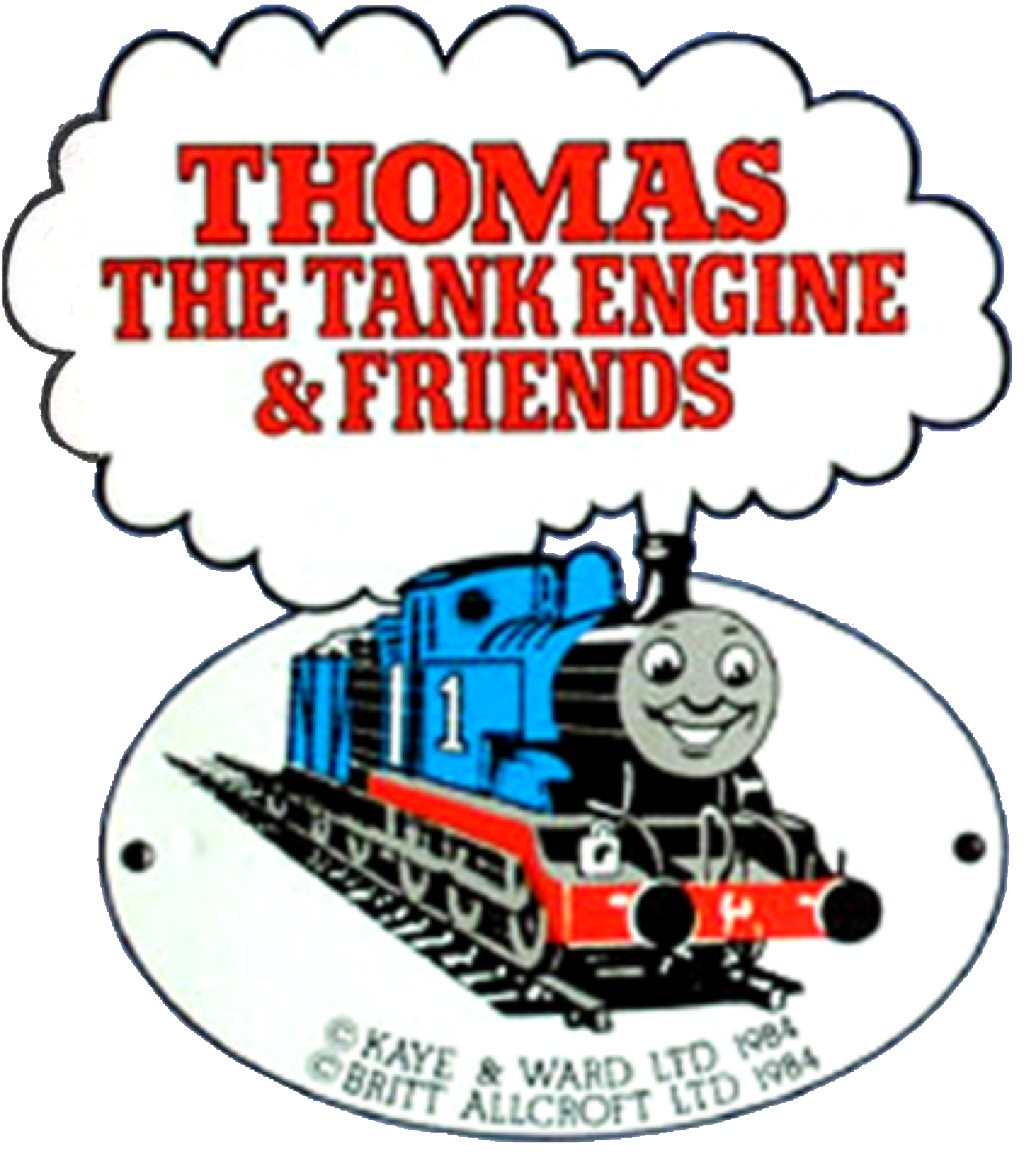 It's just an image of Unforgettable Thomas the Train Logo