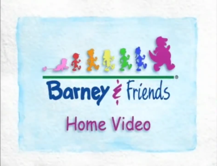 barney home video logopedia fandom powered by wikia rh logos wikia com barney home video logo history barney home video logo reversed