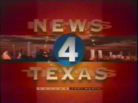 KDFW News 4 Texas 5PM open - 1995