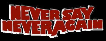 Never-say-never-again-movie-logo