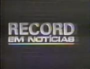 Record em Noticias (1993)