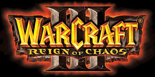 Warcraft 3 reign of chaos logo