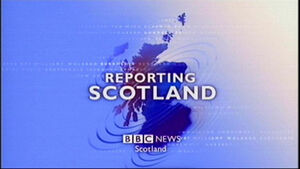 BBC Reporting Scotland 2007