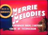 Merrie Melodies Blue Ribbon 1954