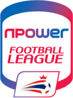Npower Football League logo (upright)