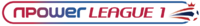 Npower League One logo (linear)