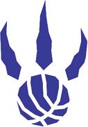 Toronto Raptors logo (alternate, 1995-2006)