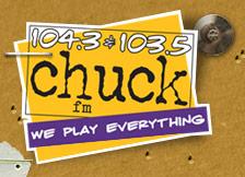 WCHK 104.3 103.5 Chuck FM