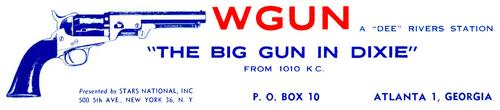 WGUN - 1950s -March 22, 1960-