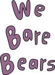 We Bare Bears logotype svg