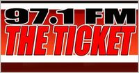 Wxyt the ticket logo